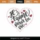 Je T'aime Pour La Vie SVG Cut File 8772
