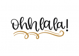 Ohhlala SVG Cut File 8798