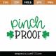 Pinch Proof SVG Cut File