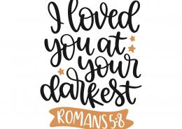 Romans 5-8 SVG Cut File 8724