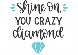 Shine On You Crazy Diamond SVG Cut File 8795