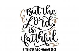 2 Thessalonians 3-3 SVG Cut File 8949