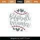 Baseball Mama SVG Cut File 8964