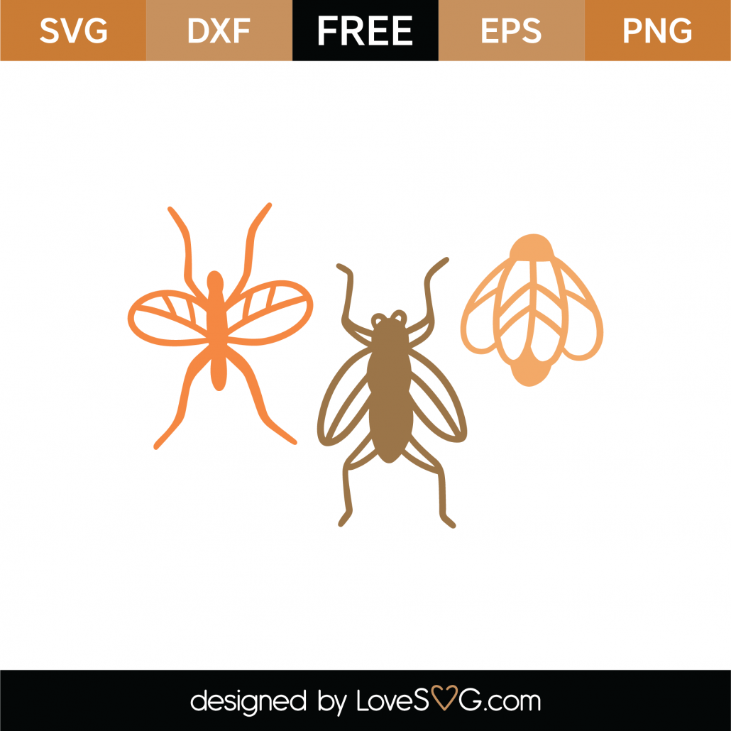 Bugs SVG Cut File 8983