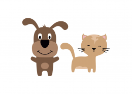 Cat and Dog SVG Cut File 9088