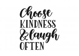 Choose Kindness SVG Cut File 9083