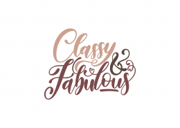 Classy and Fabulous SVG Cut File 9085