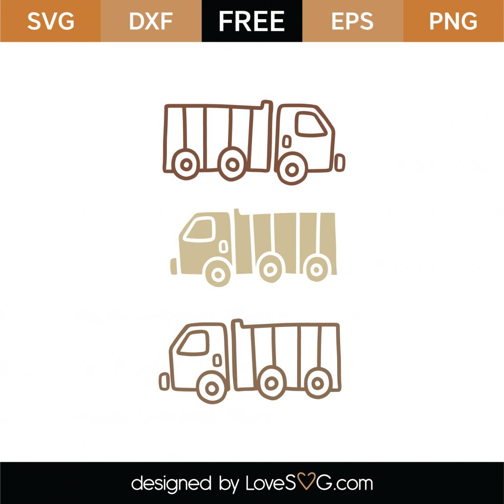 Coloring Trucks SVG Cut File 8982