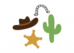 Cowboy Elements SVG Cut File 8989