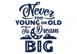 Dream Big SVG Cut File 9106