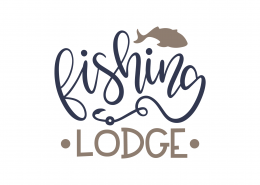 Fishing Lodge SVG Cut File 8957