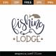 Fishing Lodge SVG Cut File 8957