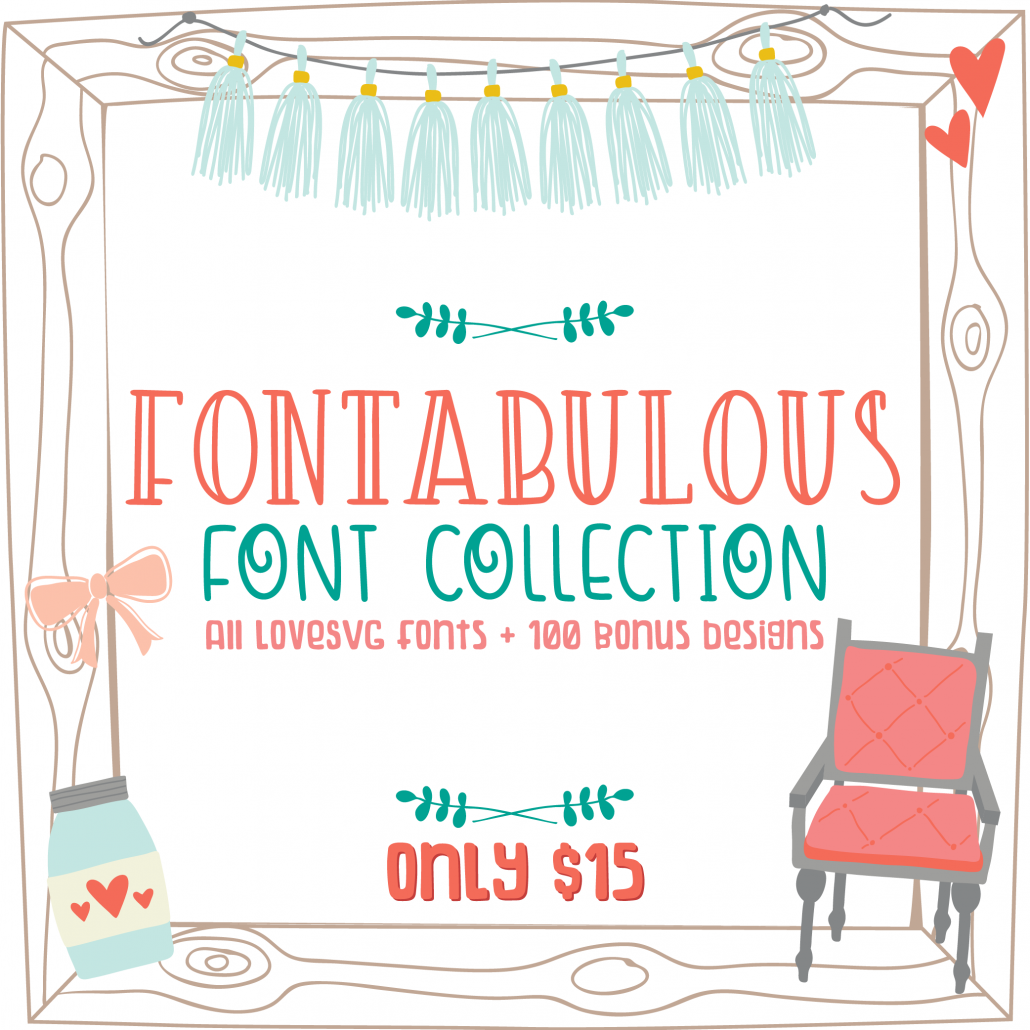 Fontabulous Font Collection - LoveSVG