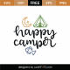 Happy Camper SVG Cut File 8993