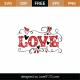 Love SVG Cut File 9016