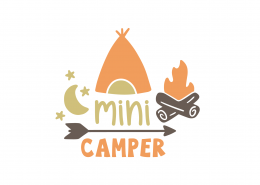 Mini Camper SVG Cut File 9026