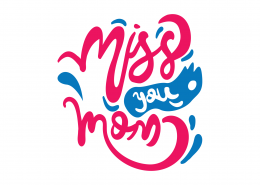 Miss You Mom SVG Cut File 9020