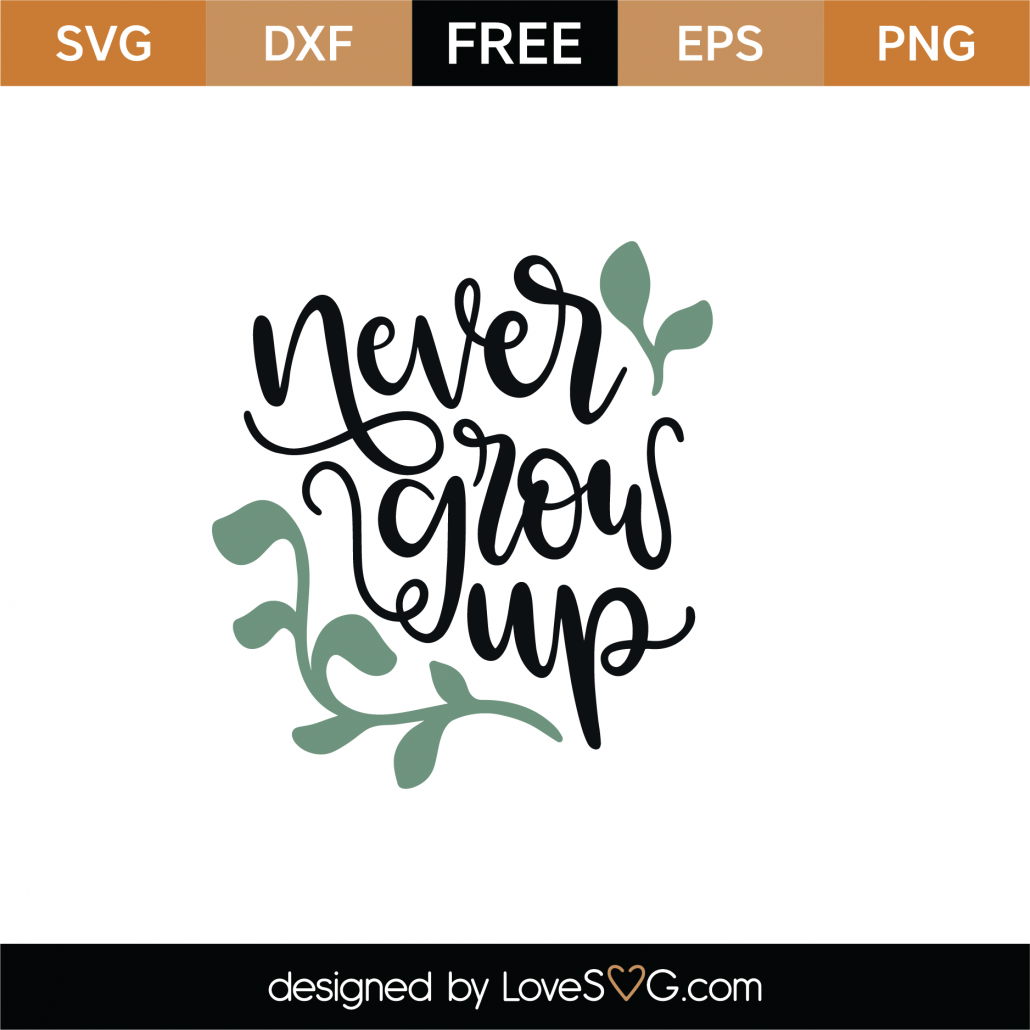 Never Give Up SVG Cut File 9007