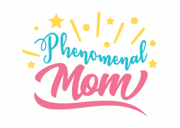 Phenomenal Mom SVG Cut File 9033