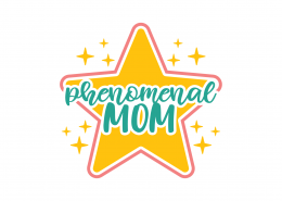 Phenomenal Mom SVG Cut File 9035
