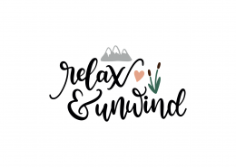 Relax and Unwind SVG Cut File 8952