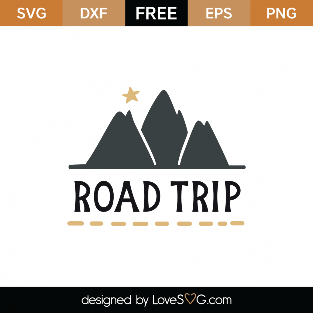 Road Trip SVG Cut File 9006
