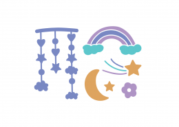 Sleep Elements SVG Cut File 8916