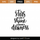 Stars Can't Shine Without Darkness SVG Cut File 9029