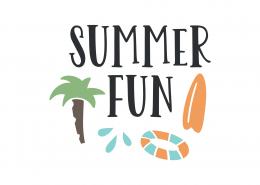 Summer Fun SVG Cut File 9036