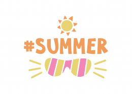 Summer Shades SVG Cut File 9032