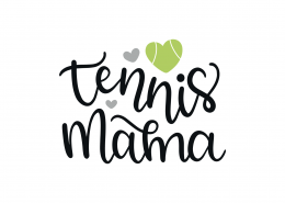 Tennis Mama SVG Cut File 8973