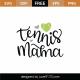 Tennis Mama SVG Cut File 8973