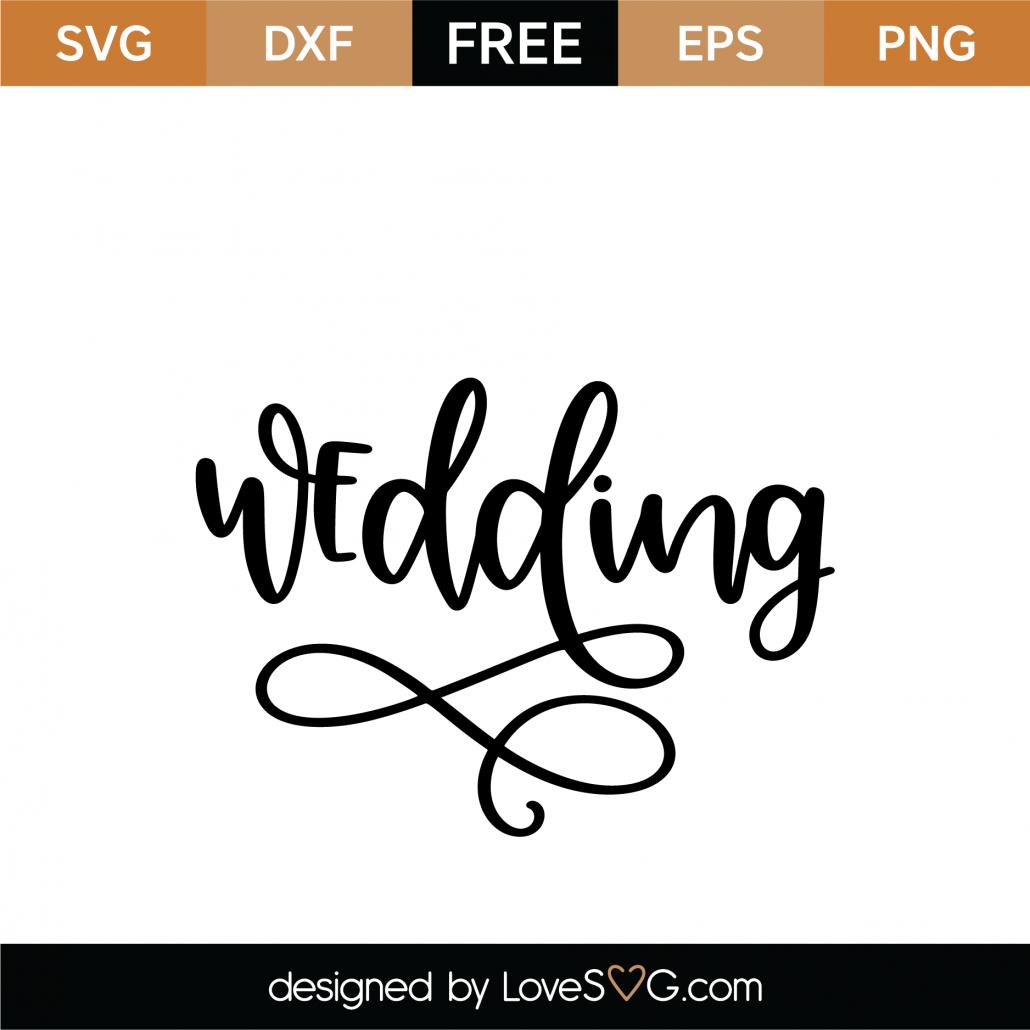 Wedding SVG Cut File 9039