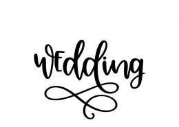 Wedding SVG Cut File 9039