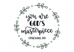 Ephesians 2-10 SVG Cut File 9129
