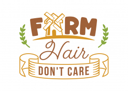Farm Hair Don't Care SVG Cut File 9098