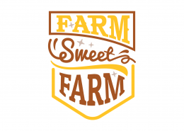 Farm Sweet Farm SVG Cut File 9046