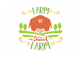 Farm Sweet Farm SVG Cut File 9052