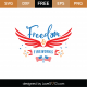 Freedom and Fireworks SVG Cut File 9095
