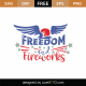 Freedom and Fireworks SVG Cut File 9124