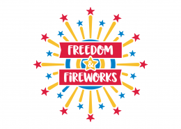 Freedom and Fireworks SVG Cut File 9224