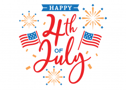 Happy 4th Of July SVG Cut File 9168