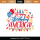 Happy Birthday America SVG Cut File 9119