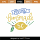 Ice Cold Lemonade 5c SVG Cut File 9192