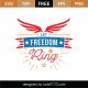 Let Freedom Ring SVG Cut File 9096