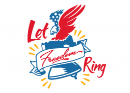 Let Freedom Ring SVG Cut File 9101