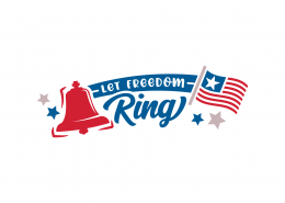 Let Freedom Ring SVG Cut File 9156