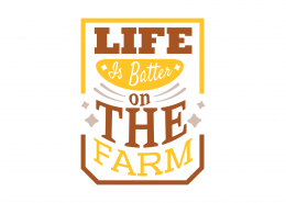 Life Is Better On The Farm SVG Cut File 9044