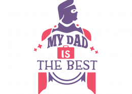 My Dad Is The Best SVG Cut File 9182