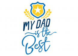 My Dad Is The Best SVG Cut File 9200